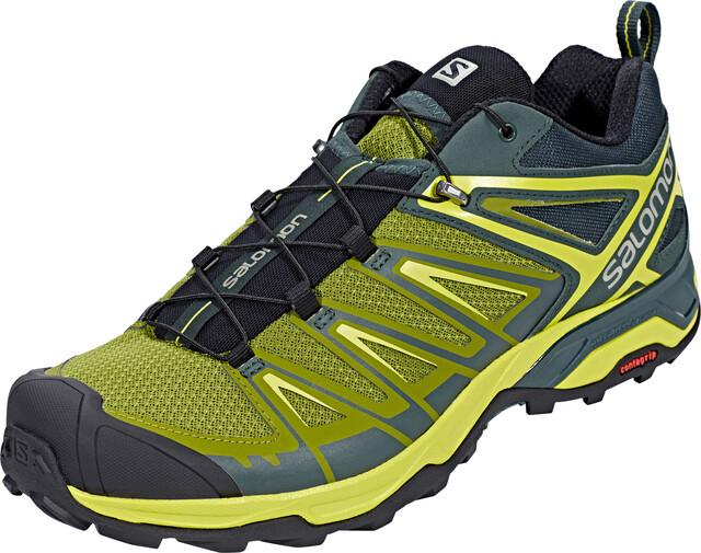 Salomon M's X Ultra 3 Shoes Darkest Spruce/Guacamole/Sulphur Spring